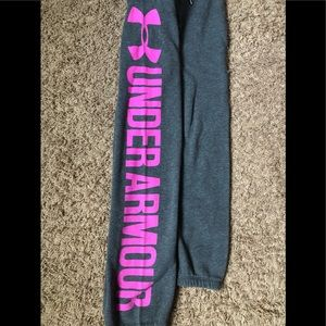 Women's Under Armour Sweatpants - Size Small